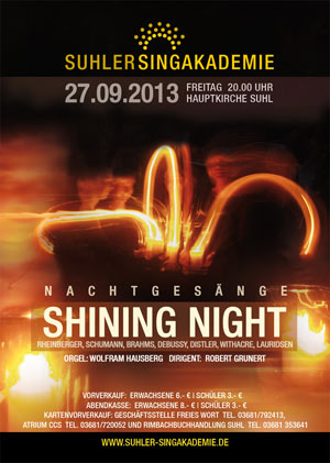 Konzert SHINING NIGHT